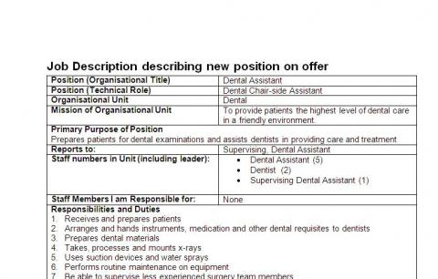 h-2060jobdescri_0_0 Dental Istant Job Description Application Form on