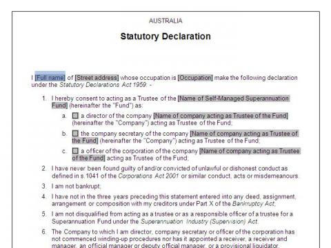 tax file declaration form queensland